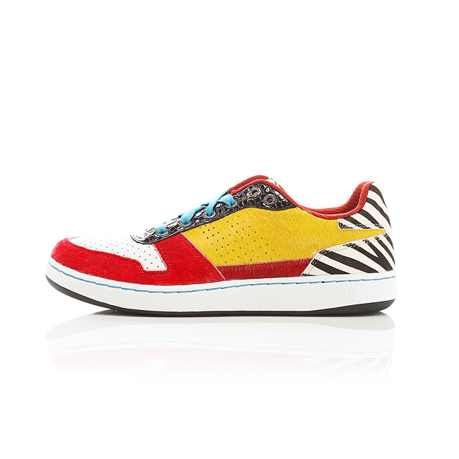Wynwood - White /Red /Blk /Yellow