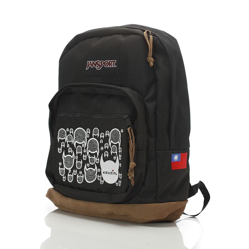 KRUZIN x JanSport 聯名世界簽名系列限量後背包