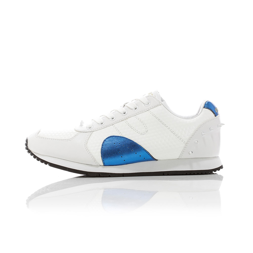 Boston - White / Royal Blue