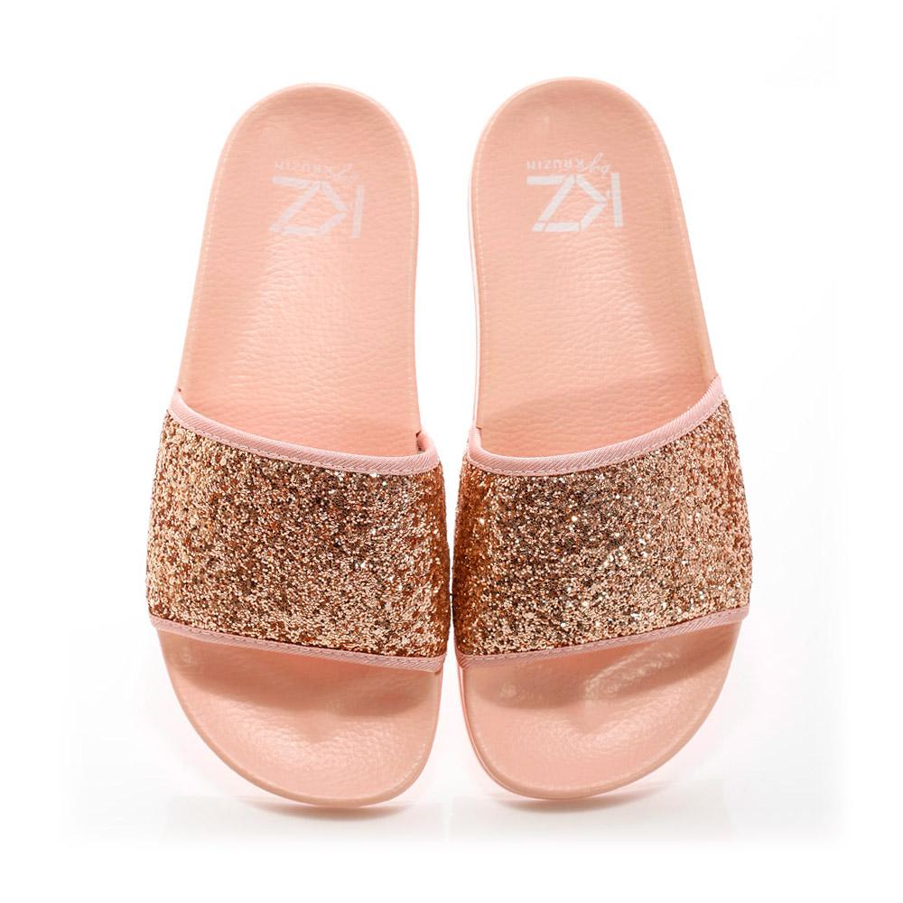 KZ slide - Sequins Pink
