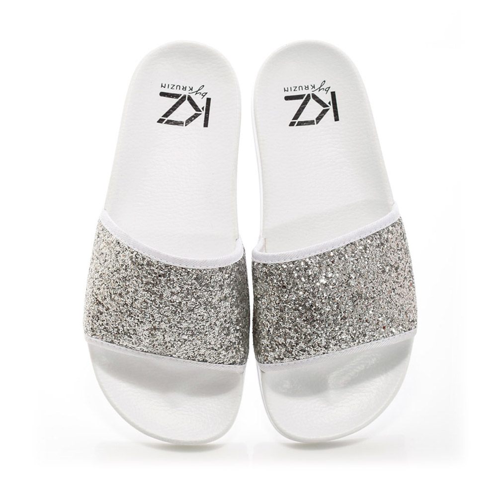 KZ slide - Sequins White