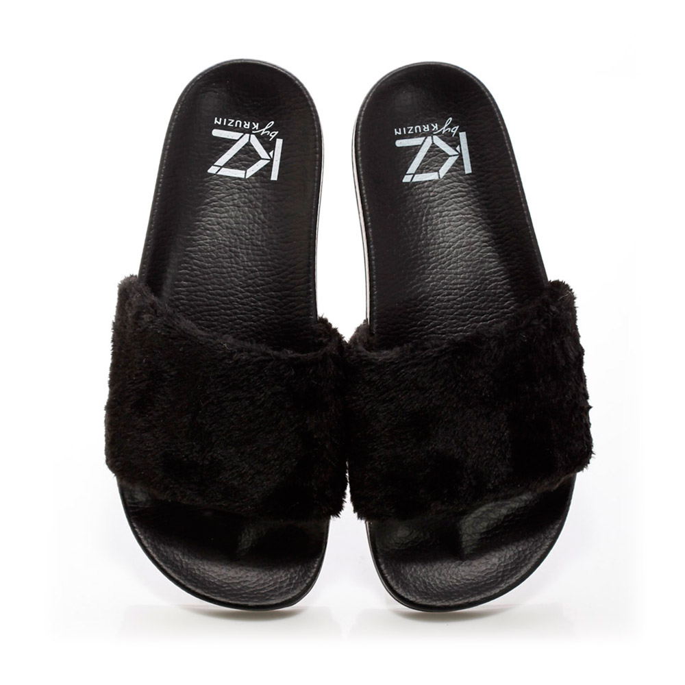KZ slide - Fur Black
