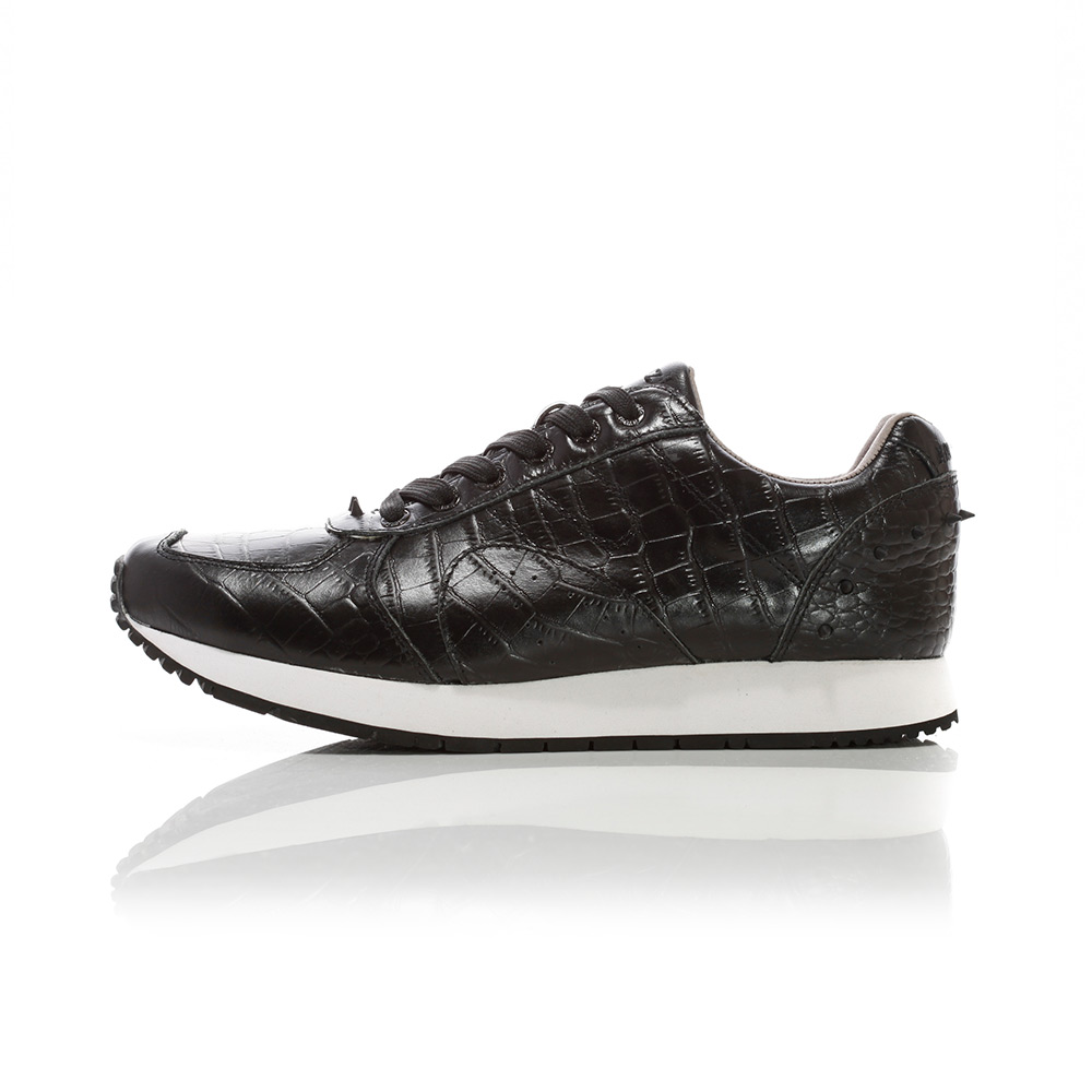 Boston 2.0 - Black Croco