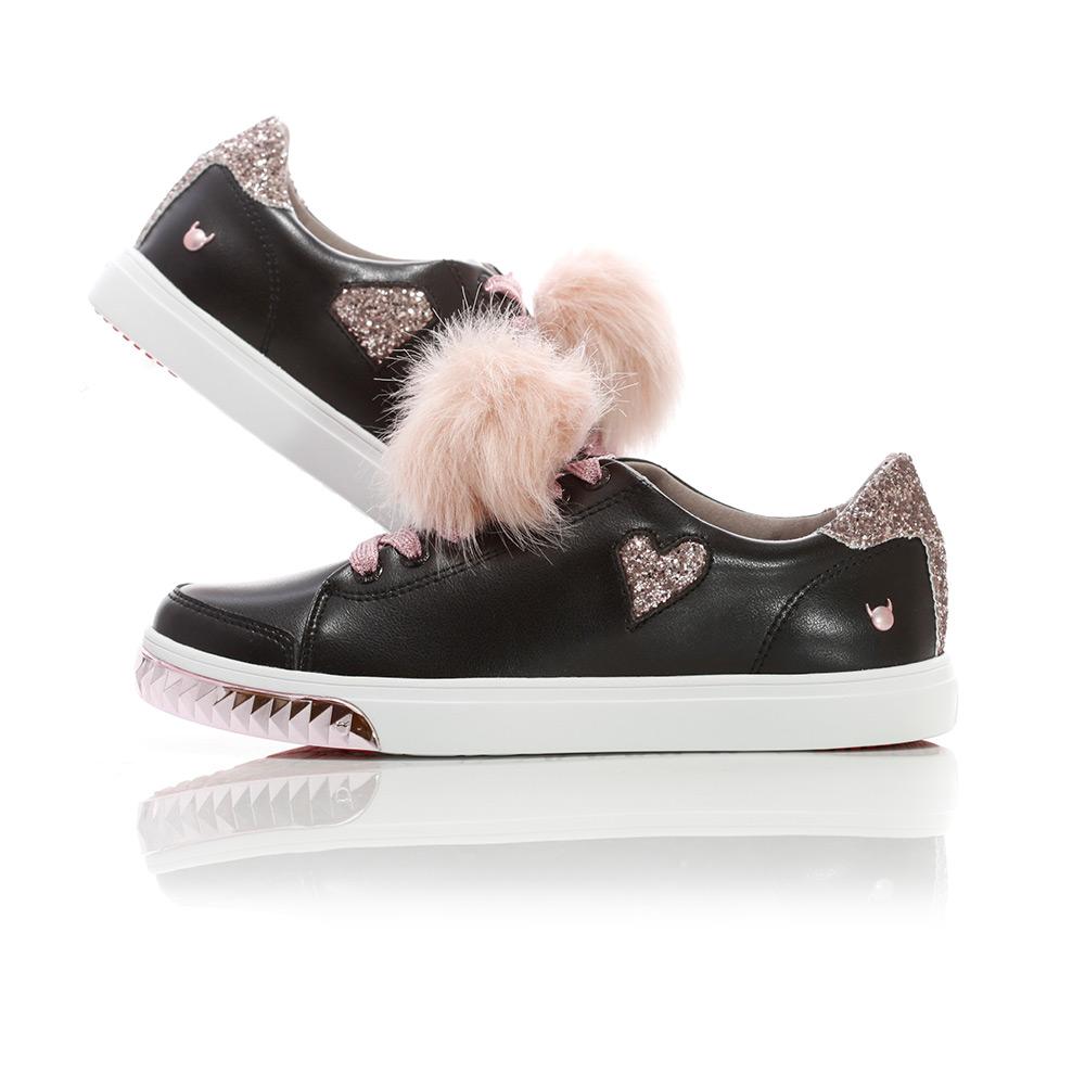 Nicki - Black / Pink-Gold